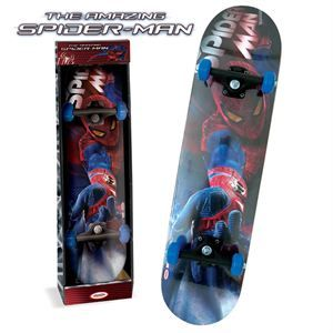 Spider Man   Skateboard Taille 31 x 8, ABEC 5, roues PVC 50 x 27mm