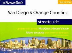 Thomas Guide 2009 San Diego & Orange Counties, California (Paperback