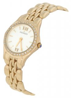 Movado Juvelo Womens 14 kt. Gold Diamond Watch