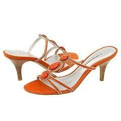 Marinelli Tune Orange Snake Sandals