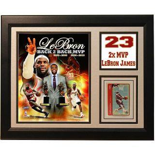 Cleveland Cavaliers LeBron James 11x14 2010 MVP Deluxe Frame Plaque