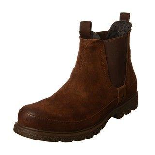 Robert Wayne Mens Grayson Suede Slip on Boots FINAL SALE