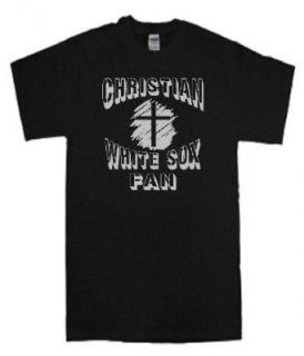 CHRISTIAN WHITE SOX FAN SPIRITUAL BASEBALL FAN T SHIRT