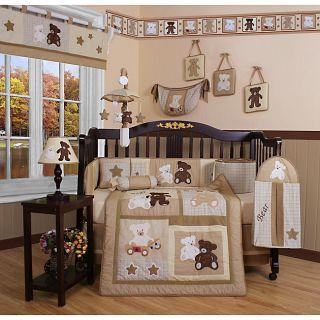 Teddy Bear 13 piece Crib Bedding Set