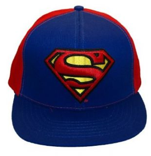 Superman S shield Snapback Hat Cap Clothing