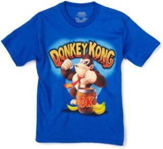 Nintendo Boys 8 20 Donkey Kong Short Sleeve T Shirt, Royal