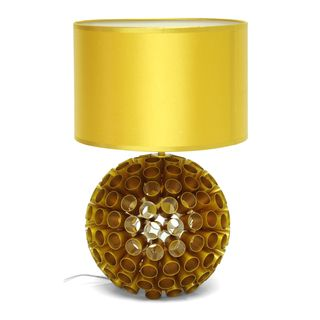 Medill Metallic Gold Modern Table Lamp