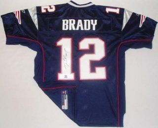 Tom Brady Autographed Uniform   Authentic Sports