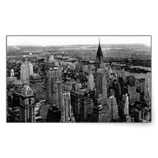 New York City Rectangle Sticker