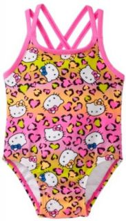 Hello Kitty Baby girls Infant Animal Print One Piece