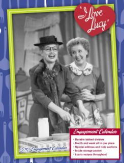 Love Lucy 2012 Calendar (Calendar)