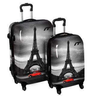 International Traveller Classic Paris 2 piece Hardside Fashion