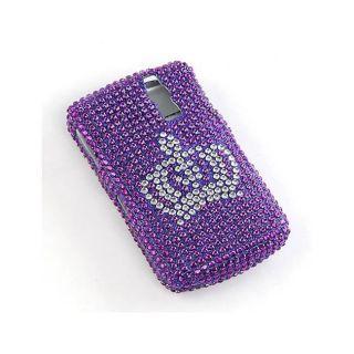BlackBerry Curve 8330 Full Diamond Case with Crown Design