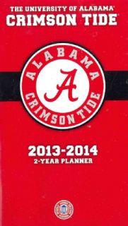 Alabama Crimson Tide College 2013 14 2 Year Planner (Calendar