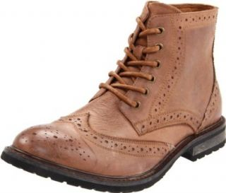 Steve Madden Mens Mansel Boot,Tan Leather,8.5 M US Shoes