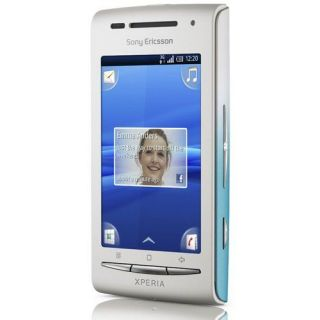 Sony Ericsson XPERIA X8 Blanc Bleu   Achat / Vente SMARTPHONE Sony