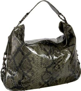 Rebecca Minkoff Nikki Hobo,Olive Python,one size Shoes