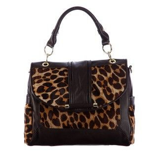 Hype George Animal Print Crossbody Bag