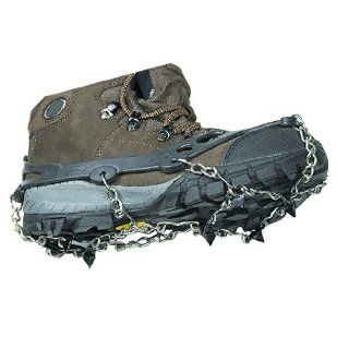2x Black Ice Cleat Shoe Boot Tread Grips Traction Crampon