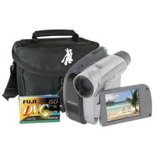 27 + Etui + Cassettes Mini DV   Achat / Vente CAMESCOPE SONY DCR HC 27