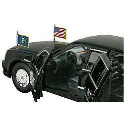 Die cast 2009 Cadillac DTS Presidential Limo