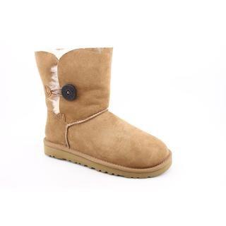 Ugg Australia Womens Bailey Button Regular Suede Boots