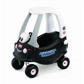 Little Tikes Tikes Patrol Police Car Cozy Coupe