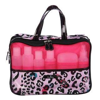 Modella Fitted Weekender Bag with Travel Bottles