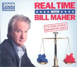 Real Time with Bill Maher 2009 Calendar (Paperback)