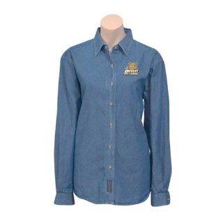 Bryant Ladies Denim Long Sleeve Shirt Medium, Bryant