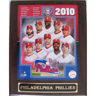 Philadelphia Phillies 2010 Team Plaque