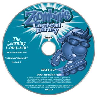 PC   Zoombinis Logical Journey