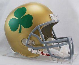 Notre Dame Fighting Irish Riddell Deluxe Replica Helmet