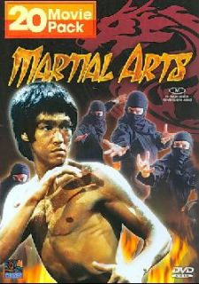 Martial Arts   20 Movie Pack   4 Disc Set (DVD)
