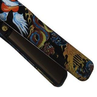 Proliss Turbo Silk 1 inch Black Tattoo Tourmaline Ionic Hair Styler
