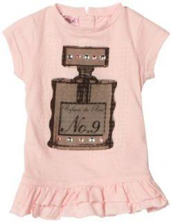 Pink Angel Baby girls Infant Perfume Top, Ballet Pink, 12