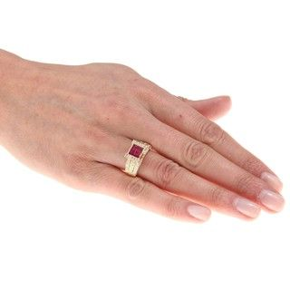 Encore by Le Vian 14K Yellow Gold Ruby Ring