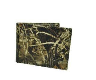 leather Mens Bifold Wallet Camouflage Saffiano Purse Yellow Shoes