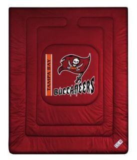Tampa Bay Buccaneers NFL Locker Room Full or Queen Bed