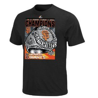MLB San Francisco Giants 2012 World Series Champs Rings T