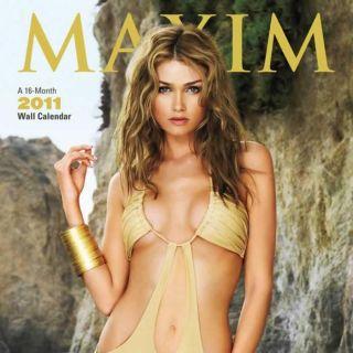 Maxim 2011 Wall Calendar