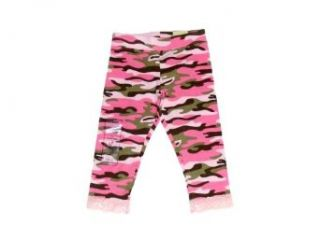 Brand New Little Girls Pink Camouflage Leggings By Arizona