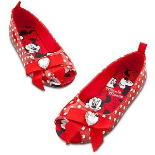 Minnie Mouse Costume Shoes/Slippers Red