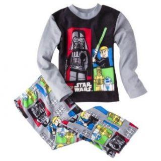Lego Star Wars Boys Fleece Pajama Set Clothing