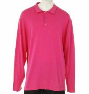 Sean John Big & Tall Long Sleeve Shirt Pink 3XL Clothing