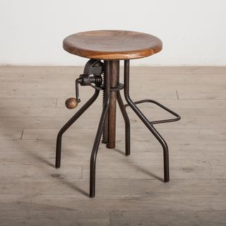 Adjustable Hand Crank Bar Stool (India)