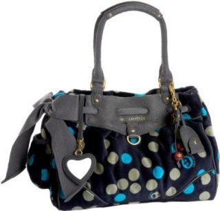 Fashion Velour I Love Dotty Daydreamer Tote,Regal,one size Shoes
