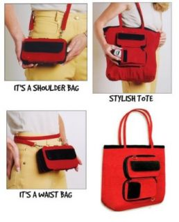 Eco Friendly Expandable Wallet That Converts to Tote Bag