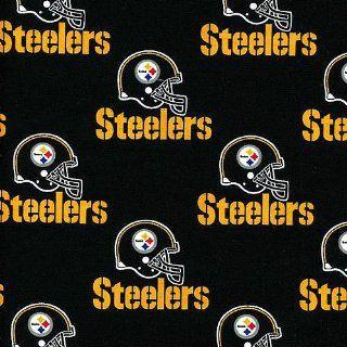 NFL Pittsburgh Steelers Cotton Fabric  Per Yard Sports