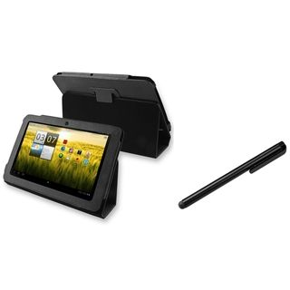 BasAcc Leather Case/ Black Stylus for Acer Iconia Tab A200